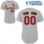 customize mlb st louis cardinals jersey grey road cool base base
