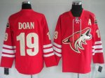 Hockey Jerseys phoenix coyotes 19# doan red