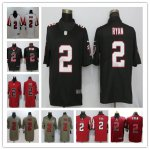 Football Atlanta Falcons #2 Matt Ryan Jersey