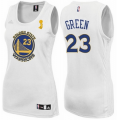 women nba golden state warriors #23 draymond green white champion patch jerseys