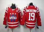 nhl washington capitals #19 backstron red [2014 new][patch A]