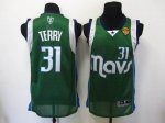 Basketball Jerseys dallas mavericks #31 terry Swingman green[201