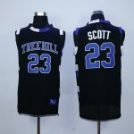 one tree hill ravens #23 nathan scott black stitched basketball