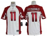 nike nfl arizona cardinals #11 larry fitzgerald white jerseys [g