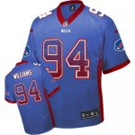 nike nfl buffalo bills #94 williams blue [elite drift fashion]