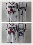 Basketball Toronto Raptors Nike White Mitchell & Ness Throwback Jersey