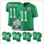 Football Philadelphia Eagles Hot Players Color Green Rush Vapor Untouchable Limited Super Bowl LII Champion Jersey