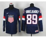 2014 world championship nhl jerseys USA #89 adbelkader blue