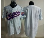 mlb montreal expos blank white jerseys [2013 new blue strip]