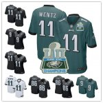 Football Philadelphia Eagles Hot Players Stitched Super Bowl LII Champion Game Jersey
