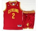 nba cleveland cavaliers #2 kyrie irving red [revolution 30 swing