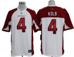 nike nfl arizona cardinals #4 kolb white cheap jerseys [game]