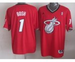 nba miami heat #1 bosh red [2013 Christmas edition]