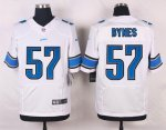 nike detroit lions #57 bynes elite white jerseys