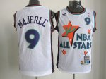 nba 95 all star #9 majerle white jerseys