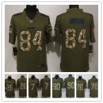 Football Pittsburgh Steelers All Players Option Green Salute To Service Limited Jersey