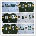 Football Mens Green Bay Packers Mitchell & Ness Retired Player Throwback Jersey Long Sleeve