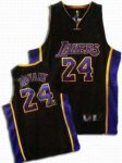 kids Los Angeles Lakers #24 Kobe Bryant Black