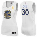 women nba golden state warriors #30 stephen curry swingman white champion patch jerseys