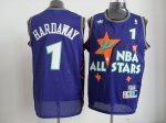 nba 95 all star #1 hardaway purple jerseys