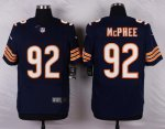 nike chicago bears #92 McPhee blue elite jerseys