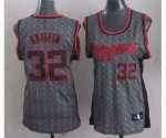 women nba los angeles clippers #32 griffin grey [static fashion