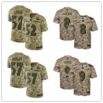 Football Baltimore Ravens Stitched Camo Salute to Service Limited Jersey
