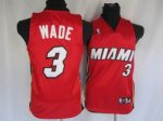 Kids Miami Heat #3 Wade red