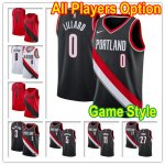 Basketball Portland Trail Blazers All Players Option Swingman Jersey Game Style