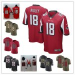 Football Atlanta Falcons #18 Calvin Ridley 2018 Draft First Round Pick Jersey