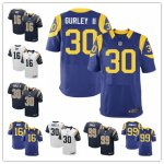 Football Los Angeles Rams Stitched Elite Jerseys