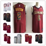 Basketball Cleveland Cavaliers #2 Collin Sexton 2018 NBA Draft First Round Pick Fast Break Jersey