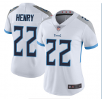 2020 New Football Tennessee Titans #22 Derrick Henry White Vapor Untouchable Limited Jersey