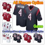 Football Houston Texans All Players Option Stitched Game Jersey