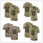 Football Los Angeles Rams Stitched Camo Salute to Service Limited Jersey