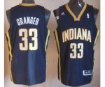 nba indlana pacers #33 granger blue [revolution 30 swingman]
