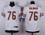 nike chicago bears #76 goldman white elite jerseys