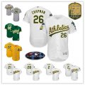 Baseball Oakland Athletics Stitched Flex Base Jersey and Cool Base Jersey