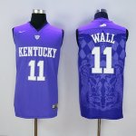 nike kentucky wildcats #11 wall blue jerseys