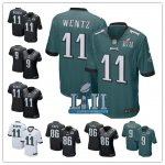Football Philadelphia Eagles All Players Stitched Super Bowl LII Bound Game Jersey