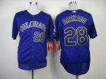 mlb colorado rockies #28 arenado purple jerseys