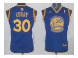 youth nba golden state warriors #30 stephen curry blue swingman jerseys