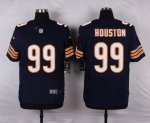 nike chicago bears #99 houston blue elite jerseys