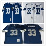 Football Men's Dallas Cowboys #33 DORSETT Mitchell & Ness Retired Player Throwback Jersey