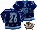 2012 nhl all star tampa bay lightning #26 st.louis blue