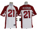 nike nfl arizona cardinals #21 patrick peterson white jerseys [g