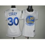 women nba golden state warriors #30 stephen curry white jerseys