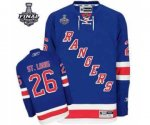 nhl new york rangers #26 st.louis blue [2014 stanley cup]