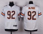 nike chicago bears #92 McPhee white elite jerseys