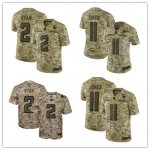 Football Atlanta Falcons Stitched Camo Salute to Service Limited Jersey